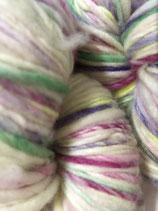 Manos del Uruguay Serpentina, Farbe Gabriela (mit Neongelb, Grün, Pink und Violett)