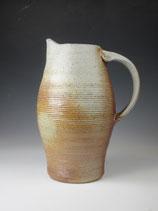 stout wood- & salt-fired pitcher