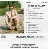 Herbert Issler - In Jesus allein
