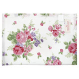 Greengate Geschirrhandtuch Rose white