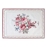 Greengate Geschirrhandtuch Elisabeth white pieceprinted