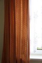 2er Set Seitenschal orange Muster