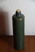 Steingutflasche grün