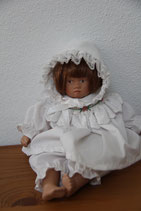 Sybilla Sauer SVSA Puppe mit Pagenschnitt 20cm Künstlerpuppe