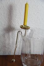 Pendel Kerzenhalter Goldfarben für Vasenrand Baum oder Zweig