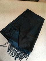 Echarpe soie bicolore