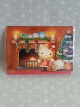 Hello Kitty, X-Mas Karte, mittel 4
