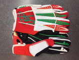 Acerbis Impact Gloves Red White Green