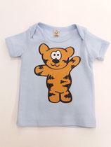 Tegerbär T' Shirt hellblau farbig