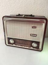 Radio Dose braun