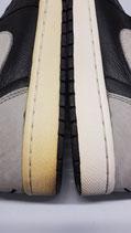 Re-whiteing/ Re-icing von Midsoles und Material