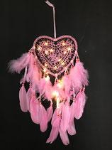 Dromenvanger hartvorm met ledverlichting
