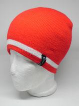 Retro Skilehrer Mütze rot/weiß