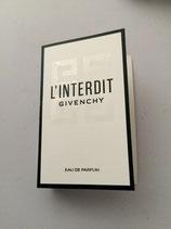 Muestra LINTERDIT Givenchy EDP DAM