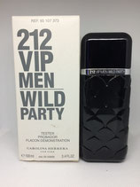 Probador de Perfume 212 Wild Party Carolina Herrera 100ml CABALLERO