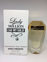 Tester de Perfume Lady Million Eau My Gold Paco Rabbane 80ml DAMA