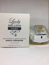 Probador de Perfume Lady Million Lucky 80ml DAMA
