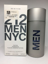 Probador de Perfume 212 Men Carolina Herrera 100ml CABALLERO
