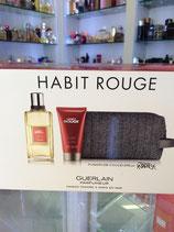 Perfume Habit Rouge SET (Estuche) by Guerlain CAB