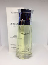 Probador de Perfume CH Herrera for men 100ml CABALLERO