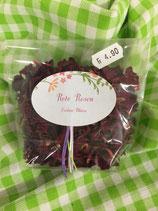 Rote Rosen  Essbare Blüten  5g