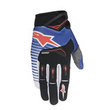ALPINESTARS TECHSTAR BLUE GLOVES