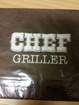 """Serviette """"Chefgriller"""", 33x33"""