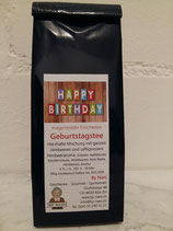 "Geburtstagstee ""Happy Birthday"""
