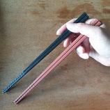 Ménbashi 麺箸 Anti-Slip Chopsticks 22,5cm Baguettes pour manger les nouilles !