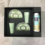 Coffret cadeau Koimari Japan Tea avec une boite du thé vert Sencha