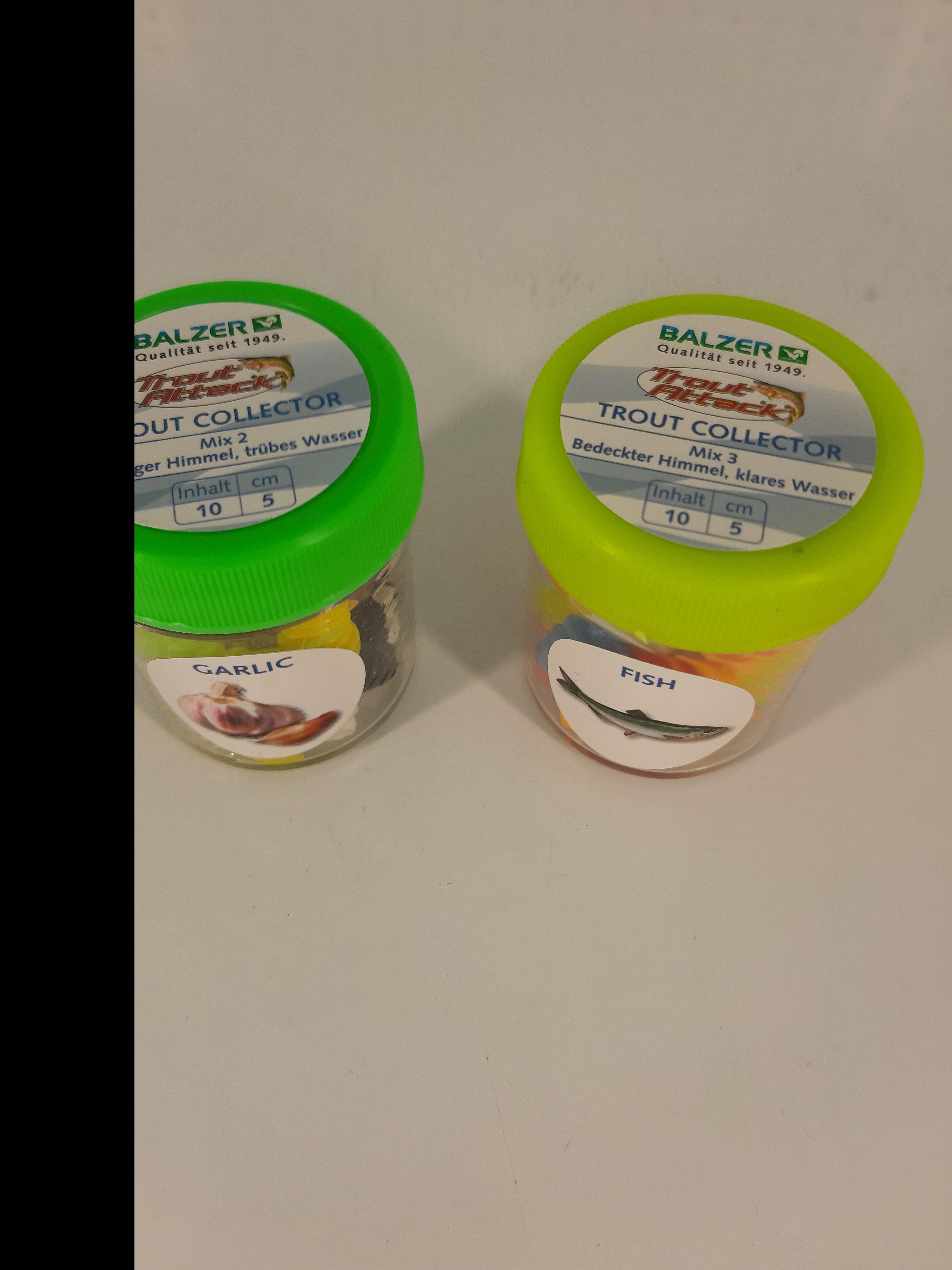 Softbait in verschiedenen Farben und Geschmack!