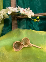 Teesieb aus Bambus