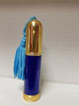Perfumador para bolso azul con borla