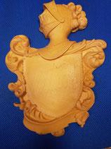 Escudo heráldico resina