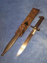 M1896 Bajonett Schweden mit originaler Scheide und Koppelschuh
