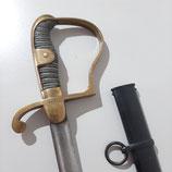 Säbel für Wachmeister der preußischen Landgendamerie M1826 mit Steckrückenklinge