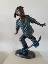 Lilo met skatebord