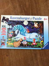 Ravensburger Puzzle Einhorn 100 Teile XXL