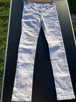 weisse Stretch-Jeans Gr. 146 (52)