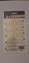 Sticker Viel Glück