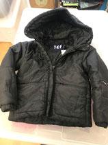 Winterjacke in schwarz Gr 128 sehr gut erhalten