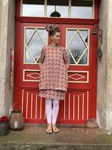 Froeken Frida Jersey Kleid, Anouk Bio, Kleine Blumen