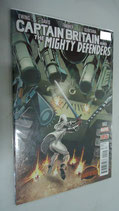 COMIC SECRET WARS - CAPTAIN BRITAIN AND MIGHTY DEFENDERS