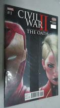 COMIC CIVIL WAR II THE OATH