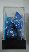 Set de Dados - 7 - Opaque Blue/white