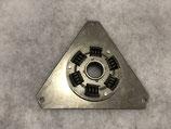Dämpferplatte Stahl mit Federdämpfung