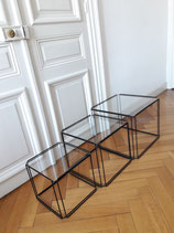 NESTING TABLES ISOCELE for ATROW design MAX SAUZE