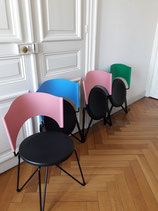 4 CHAIRS SOFIA for BONALDO design CARLO BARTOLI