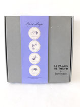 BOX OF PLATES design MIRKA LUGOSI for LE PALAIS DE TOKYO and LUMINARC