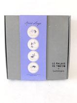 BOX OF PLATES design MIRKA LUGOSI for LE PALAIS DE TOKYO and LUMINARC